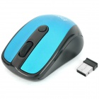 FREER 2.4GHz 1000 / 1600DPI Wireless Optical Mouse - Dark Blue (1 x AAA)