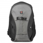 Crumpler Outdoor Waterproof Backpack Double-Shoulder Bag - Black + Grey