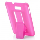 Protective PVC Holder Stand Back Case for Samsung Galaxy Note / i9220 - Purple