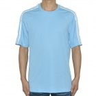 ADIDAS Football T-Shirt - Light Blue (Size-M)