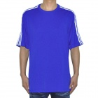 ADIDAS Football T-Shirt - Blue (Size-L)