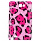 Protective Leopard PC Case for Samsung i9220 - Big Red