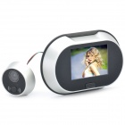 "3.5"" LCD Digital Door Viewer w/ Doorbell (3 x AA)"