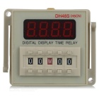 4-Digit LED Display Digital relé de atraso Dual Time (AC 220 ~ 240V)