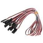 500mm 3-Pin Servo Leads Connection Extension Cables (10-Pack)