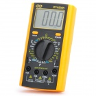 "DT-9205N 2.8"" LCD Digital Multimeter - Black + Orange (1 x 9V 6F22)"