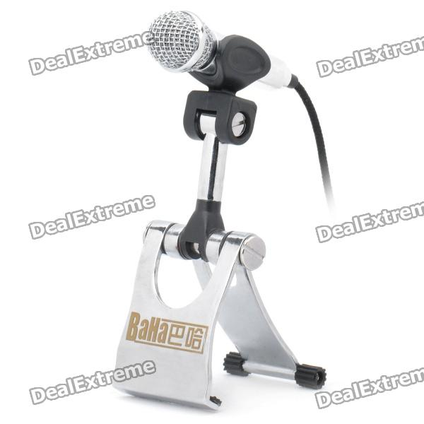 Mini Computer Microphone with Holder (3.5mm Jack)