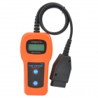 "U281 1.5"" LCD Car Diagnostic Tool - Orange + Black (DC 12V)"