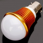 B22 6W 3500K 540-Lumen 12-LED Warm White Light Bulb (AC 85~265V)
