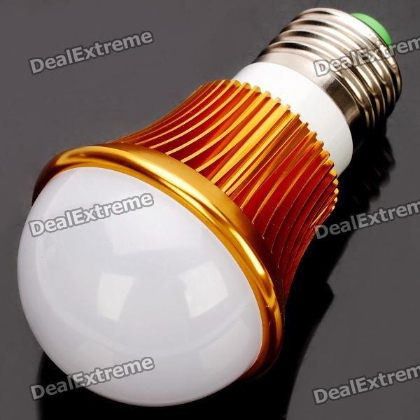 E27 6W 3500K 540-Lumen 12-LED Warm White Light Bulb (AC 85~265V) e27 9w 3500k 810 lumen 18 led warm white light bulb ac 85 265v