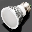 E27 3W 6500K 275-Lumen 6-LED White Light Bulb (AC 85~265V)