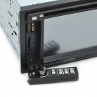 "6.2"" Resistive Screen Car DVD Media Player w/ TV / Bluetooth / FM / 3D / SD"