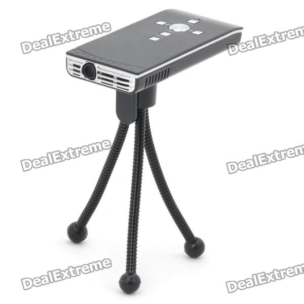 Portable Smart Mini Home/Office Multimedia Player LCOS Projector