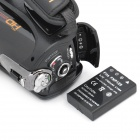 "5.0MP Digital Video Camcorder w/ 20X Optical Zoom / HDMI / 3.5mm Audio / SD Slot (3"" Touch Screen)"