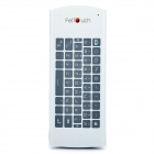 2.4GHz Wireless Multi-Touch Control Mouse Keyboard w/ USB Receiver - White + Black