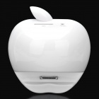 Apple Style Charging Dock Station for iPad / iPad 2 / iPod / iPhone 3GS / 4 - White (5V)