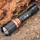 UltraFire D809 Cree Q5 WC 3-Mode 220LM White LED Flashlight w/ Strap (1 x 18650 / 2 x 16340)