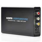CVBS Composite AV/S-Video to HDMI 1080P Scaler Converter