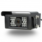 Waterproof Sharp CCD Car Rearview Camera w/ 28-LED IR Night Vision (NTSC / DC 12V)