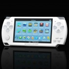 "4.3"" LCD Game Console Media Player w/ Camera / AV-Out / TF Slot / FM - White (4GB)"
