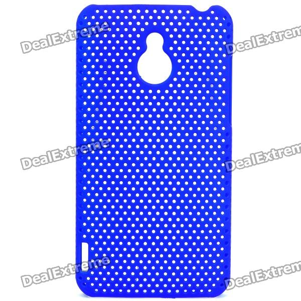 Mesh Protective PC Back Case for Meizu M9 II / MX - Blue