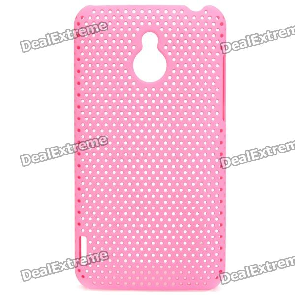 Mesh Protective PC Back Case for Meizu M9 II / MX - Pink