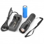 RAYSOON RS-609 5-Mode 900LM White LED Zoom Flashlight w/ Strap (1 x 26650 / 3 x AAA)