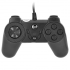 Betop C027 Dual-Player USB Gamepad Game Controller of PC Games - Black