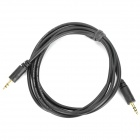 3.5mm Male to Male Audio Connection Cable - Black (145cm)