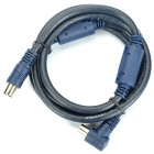Digital HD TV Signal Cable for Wired Television - Deep Blue