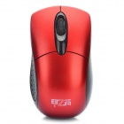 2.4GHz 1000DPI Wireless Mouse with USB Receiver - Red + Black (2 x AAA)