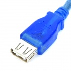 USB Extension Cable for Cell Phone / Computer / Game Console + More - Blue (1.5M Length)