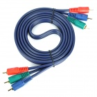 DVD Component Video-Kabel - Deep Blue (1,8 m)