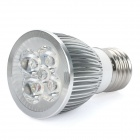E27 5W 4000K 450-Lumen 5-LED Warm White Light Bulb (AC 85~265V)