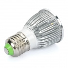 E27 5W 450-Lumen 3500K Warm White Light 5-LED Cup Bulb (AC 85~265V)