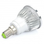 E14 4W 360-Lumen 6400K Cold White Light 4-LED Cup Bulb (AC 85~265V)