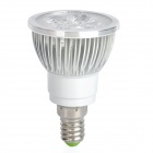 E14 4W 360-Lumen 3400K Warm White Light 4-LED Cup Ampoule (AC 85 ~ 265V)