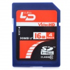 Genuine LD Video HD SDHC SD Card - Blue (16GB / CLASS 10)