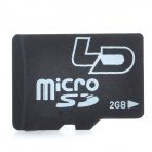Genuine LD Micro SD TF Card - Black (2GB)