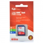 Genuine LD SDHC SD Card - Blue (4GB / CLASS 4)