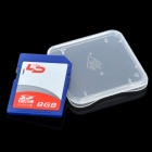 Genuine LD SDHC SD Card - Blue (8GB / CLASS 4)