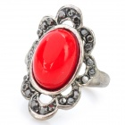 Retro Carved Magic Mirror Ring (Random Color)