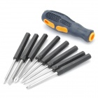 8-in-1 Screwdrivers Set (4-Philips / 4-Slot)