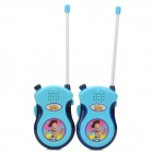 The Toy Story Style Walkie Talkie Interphone Set - Blue + Red (Pair)
