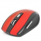 FREER 2.4GHz 1000 / 1600DPI Wireless Optical Mouse - Red (2 x AAA)
