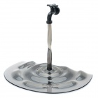 Unique Faucet Holder Flowing Water Stand for Tablet PC iPad / iPad 2 - Transparent Black