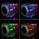 Rechargeable MP3 Player Speaker w/ FM / TF / USB / 3.5mm-Jack / Lighting Effect