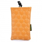 Fashionable S.CUTE Mobile Phone Carrying Bag/Pouch - Brown
