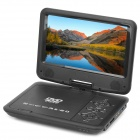 "Portable 9"" LCD DVD Media Player with Game / TV / AV-In & Out / SD / USB"