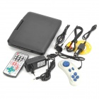 "Portable 7"" LCD DVD Media Player with Game / TV / AV-In & Out / SD / USB"